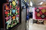 Silk exhibition in Rasht