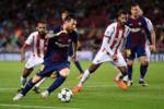 پیروزی بارسلونای ۱۰ نفره برابر المپیاکوس/ صعود یوونتوس به رده دوم