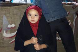برنامه نذر روسری برای چهارمین سال متوالی در ورامین اجرا شد