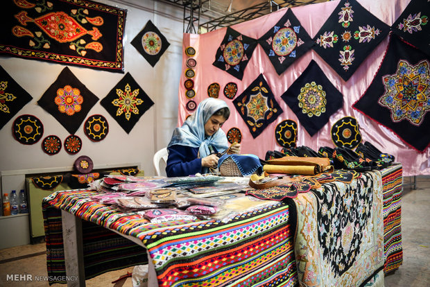Silk exhibition in Rasht