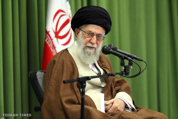 Academic elites and students meet's Ayatollah Khamenei