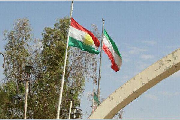 İran-Irak sınırında IKBY bayrağı indirildi