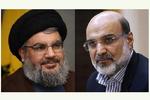 رییس صدا و سیما با سیدحسن نصرالله دیدار کرد