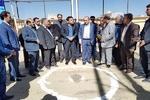 کلنگ احداث ساختمان هیئت فوتبال همدان به زمین زده شد