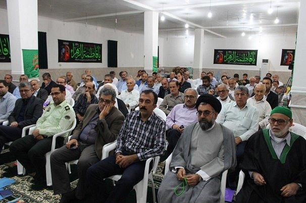 همایش سنگرسازان بیسنگر در دیر برگزار شد