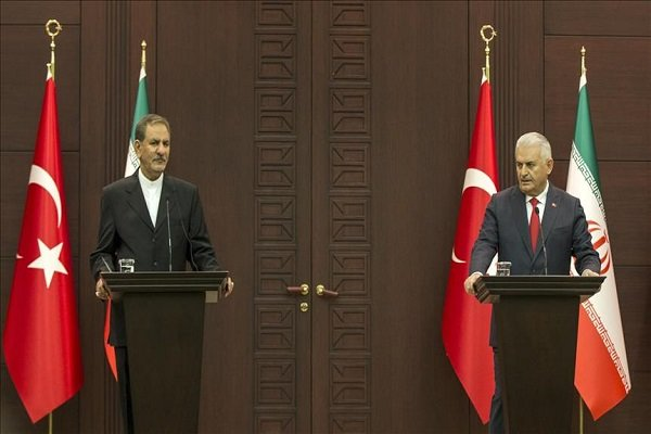 Turkish PM meets Iran's First Vice President Jahangiri