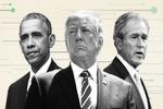 انتقاد «اوباما» و «بوش» از ترامپ