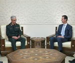 Iran's military chief meets Syrian president