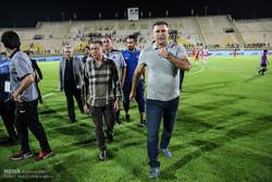 دیدار تیم های فوتبال فولاد خوزستان و سایپا