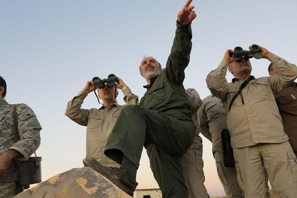 Maj. Gen. Bagheri visits operational regions in Syria