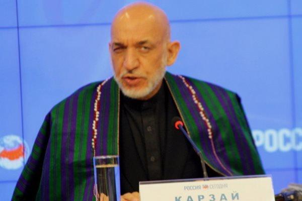 حامد کرزائی کا افغانستان کی صورتحال کے بارے میں انتباہ