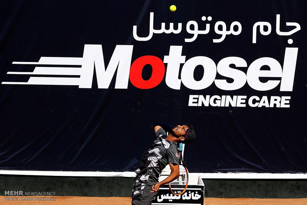 فینال رقابت های تنیس جایزه بزرگ اصفهان
