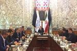 دیدار لاریجانی با مقامات حماس