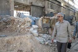مشاهد من زيارة اللواء باقري لمدينة دمشق / صور