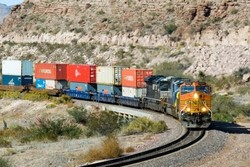Iran-Turkey monthly trade via railway at 54k tons