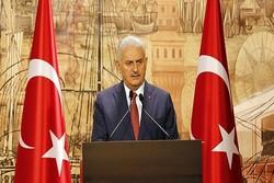 ایلدریم: بحران شمال عراق مسئله امنیت ملی ترکیه است