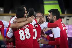 دیدار تیم های پرسپولیس تهران و نفت تهران