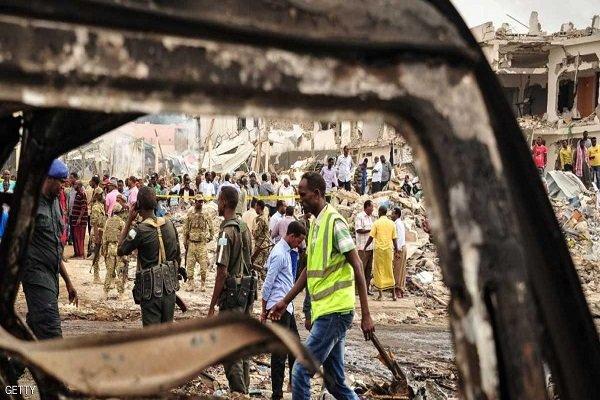 تلفات انفجار موگادیشو به ۱۷ کشته و ۲۸ زخمی رسید