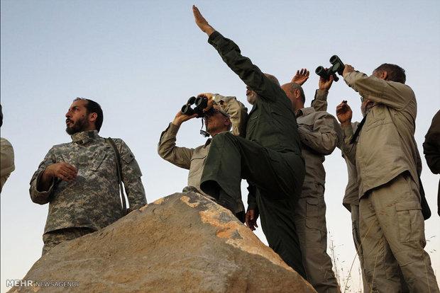 سفر سرلشکر پاسدار محمد باقری رئیس ستاد کل نیروهای مسلح و هیئت همراه  به سوریه
