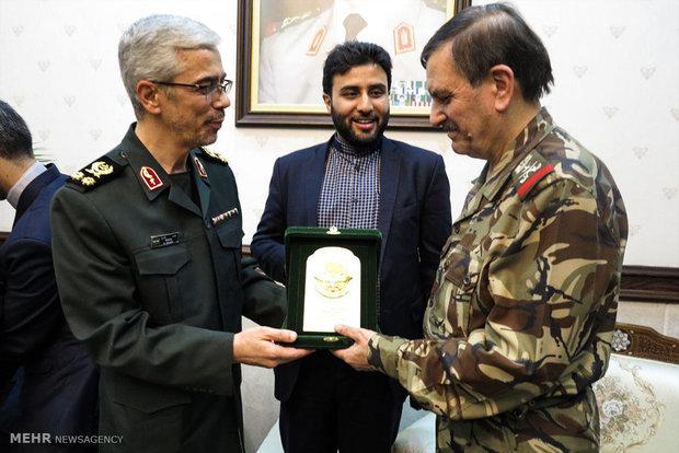 İran Genelkurmay Başkanı'nın Suriye ziyaretinden kareler