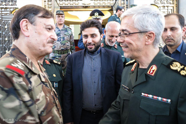 Army Chief Bagheri's trip to Syria
