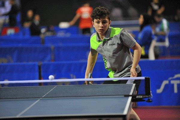 امین احمدیان - تنیس روی میز