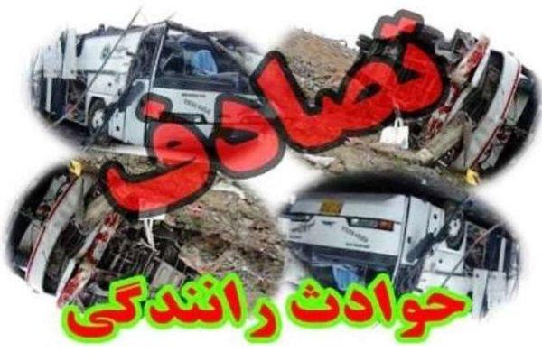 تصادف در جاده پلدختر - خرمآباد یک کشته و یک زخمی برجا گذاشت