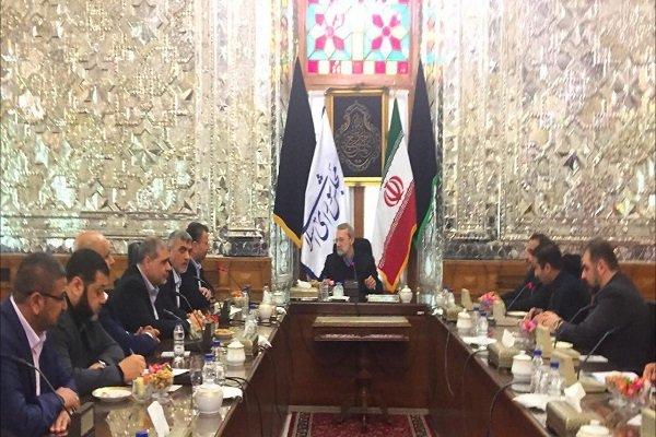 Larijani calls Palestinians to be united against 'Zionist regime'