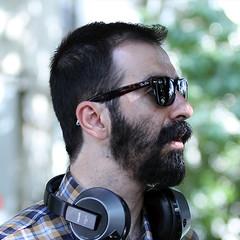Iranian director Mohsen Qarai in an undated photo