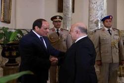 السیسی: حامی بسط سیطره دولت مرکزی عراق هستیم