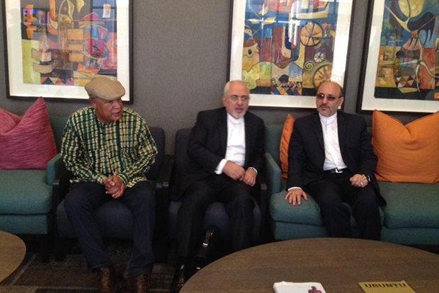 Iranian FM Zarif arrives in S Africa's Pretoria