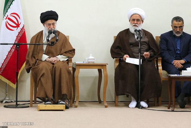 Organizers of Congress Commemorating Ayatollah Mustafa Khomeini meet with Leader