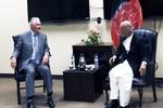 وزیر خارجه آمریکا با مقامات افغانستان دیدار کرد