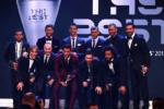 تیم منتخب سال ۲۰۱۷ فیفا معرفی شد