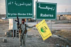 انتشار لواء من حركة النجباء في ناحية ربيعة عند الحدود العراقية السورية