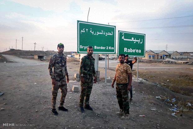 Nüceba Hareketi mücahitleri Irak-Suriye sınırında