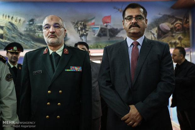 دیدار روسای پلیس مبارزه با مواد مخدر ایران و پاکستان