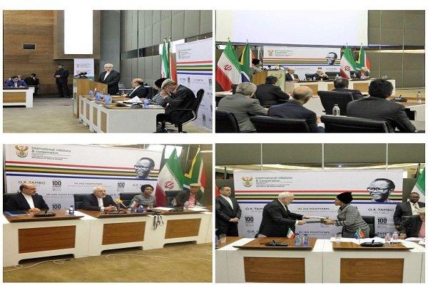 عقد اجتماع اللجنة الاقتصادية المشتركة بين ايران وجنوب افريقيا في بريتوريا