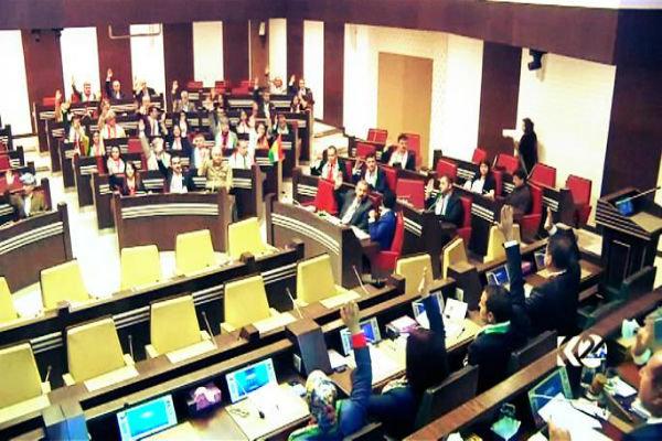 رصاص في باحة برلمان كردستان.. والأمن يتصدى لمتظاهرين غاضبين
