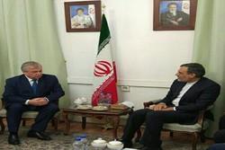 Putin's Syria envoy meets Jaberi Ansari in Tehran