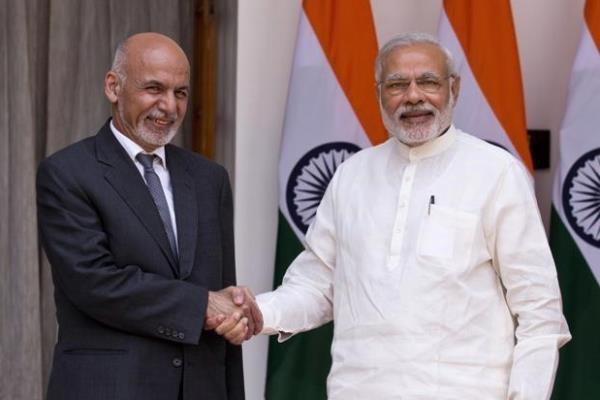 افغانستان کے صدر اشرف غنی کی مودی سے ملاقات