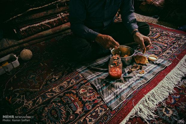 Mashhad's carpet market