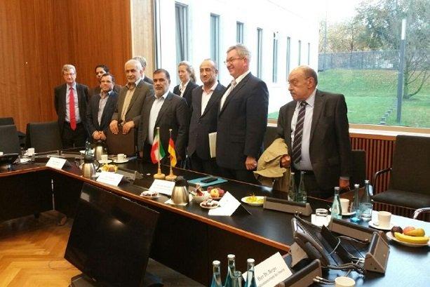 Iran, German delegations hold talks on mutual interests