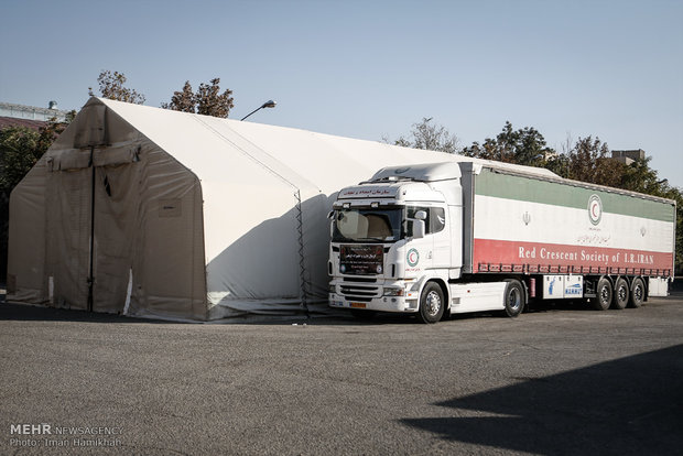 Medicine dispatched for Arbaeen march