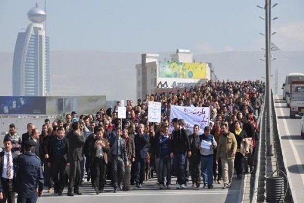 تظاهرات در سلیمانیه