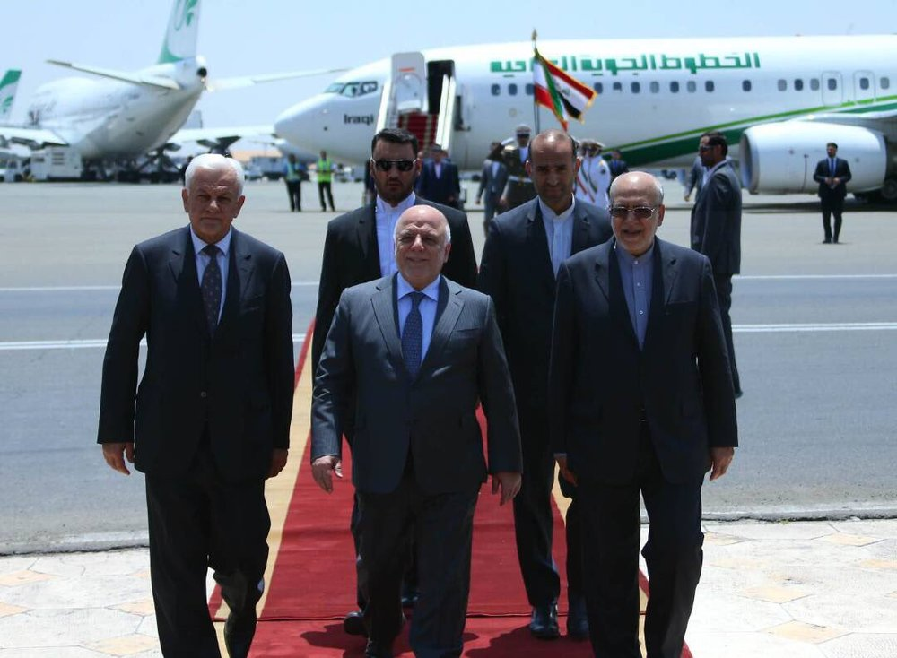 Iraq's Al-Abadi In Tehran For High-Level Meetings