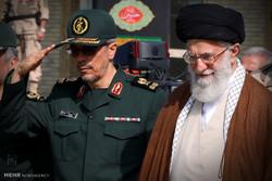 قائد الثورة الاسلامية يرعى حفل تخرج في جامعة الامام علي (ع)
