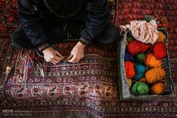 """سوق السجاد في مدينة """"همدان"""" غربي ايران / صور"""