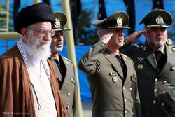 مراسم تخرج طلاب الكليات العسكرية الايرانية /صور