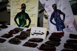 دستگیری 260 خرده فروش مواد مخدر و دستگیری اعضای باند سارقان مسلح دستگاه های فلز یاب توسط اداره پلیس آگاهی تهران بزرگ
